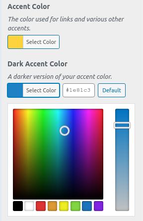 Избор на цвят от палитра