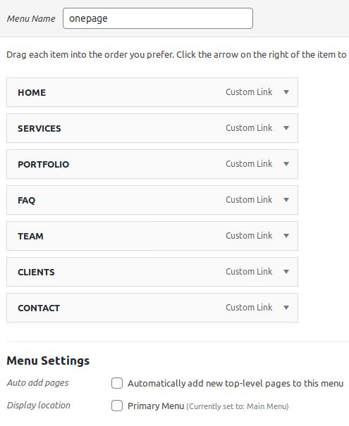 Запазване на новото меню