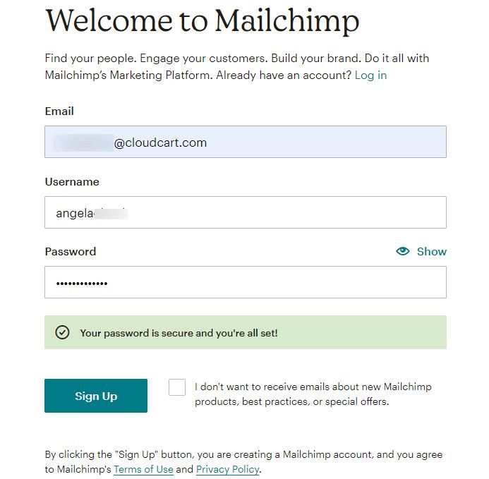 Добре дошли в Mailchimp