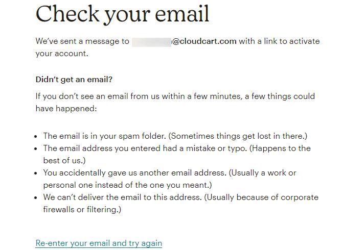 Проверете вашия имейл акаунт
