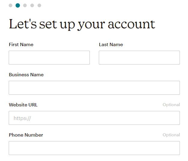 Настройване на MailChimp акаунт