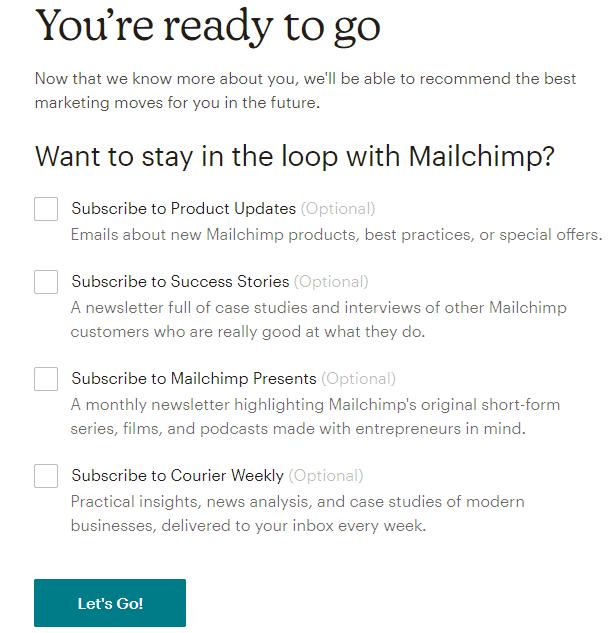 Формуляр за абониране за бюлетин на MailChimp