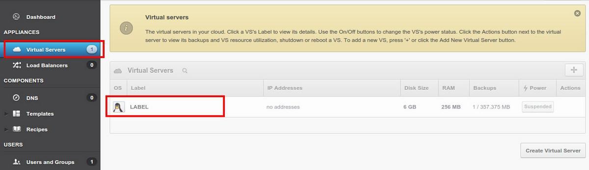 Достъп до виртуална машина в ICN Cloud