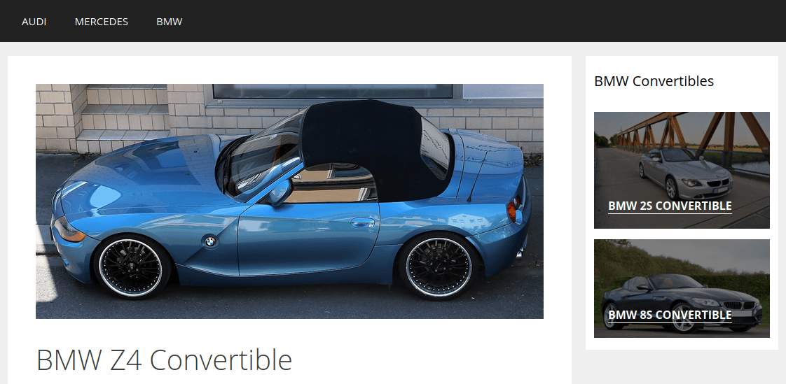 Детайлна информация за модел BMW Z4