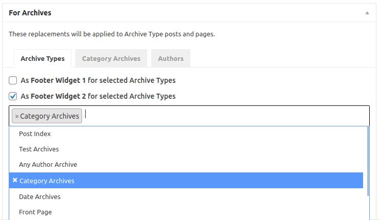 Настройка 'For Archives' за архиви