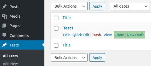 Клониране на CPT с Duplicate Post