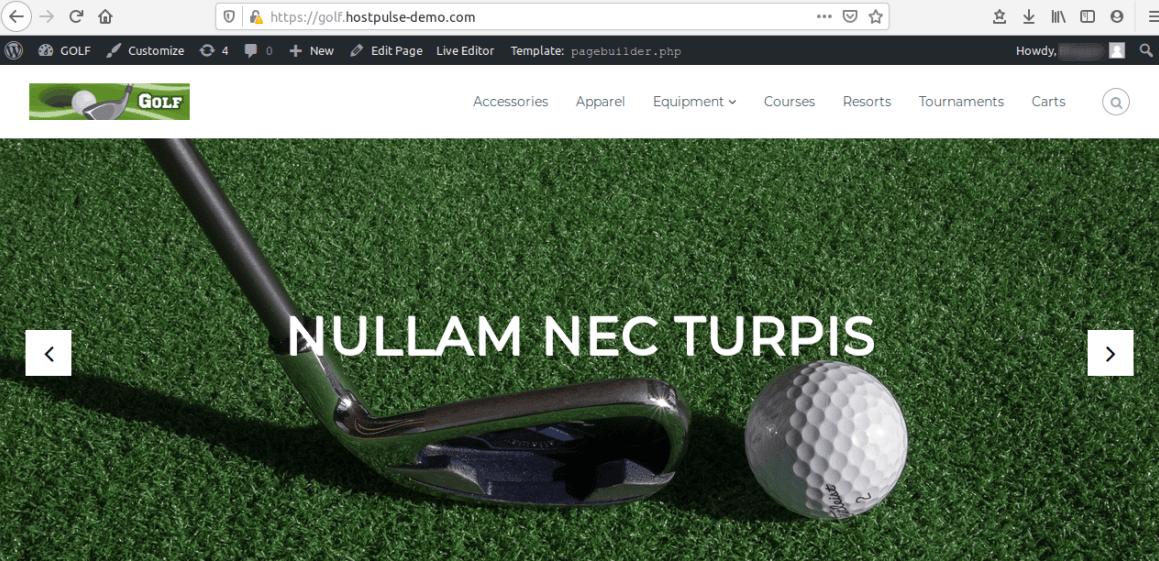 Изглед на сайта за мигриране с Duplicator