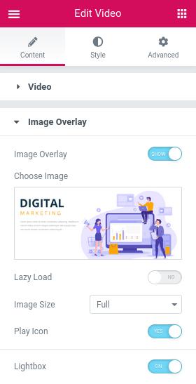 Създаване на изображение Image Overlay