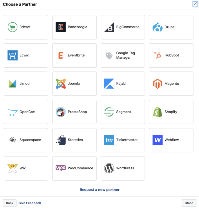 Списък с партньорска платформа