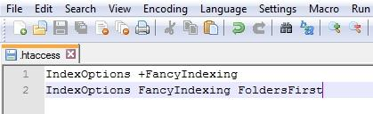 Fancy Directory Listing