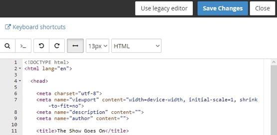 Отваряне на файла в текстов редактор