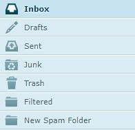 manage mail filter
