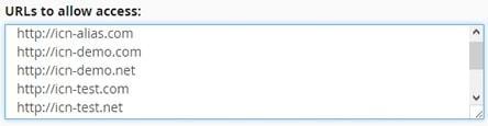 Списък със сайтове с достъп до файловете в акаунта
