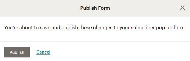 Редактиране и публикуване на формуляр
