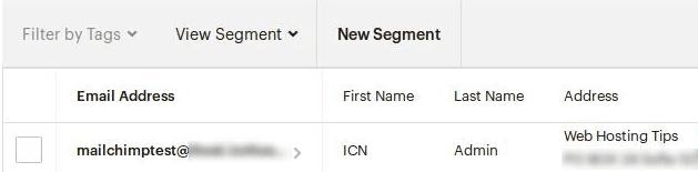 Нов списък в Mailchimp