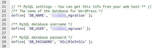 Смяна на стария с новия домейн