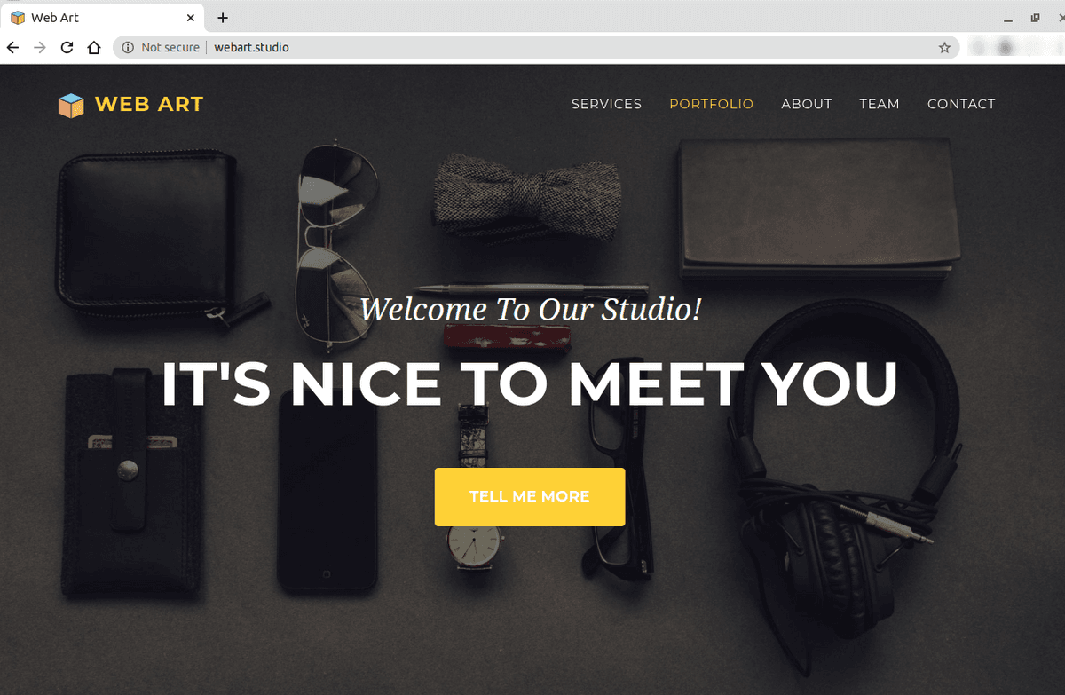 Зареждане на сайта от новия хостинг