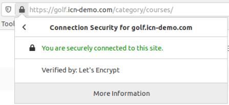 Съобщение за сигурна HTTPS връзка