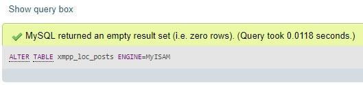 Потвърждение за коректно изпълнен код