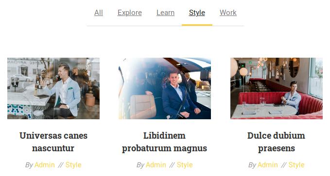 Зареждане на публикации в категория Style