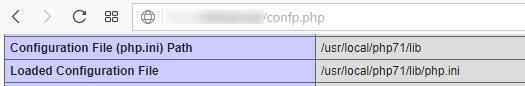 Местоположение на основния php.ini файл