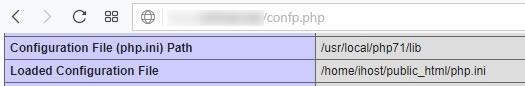 Персонализиран php.ini файл в директория public_html