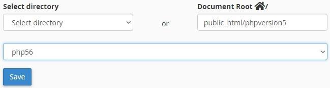 Завършване конфигурирането на PHP версия 5.6