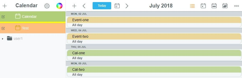 Показване на всички събития в календар