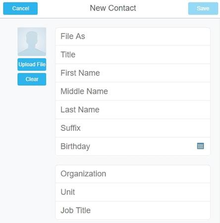 cmailpro contacts pronto