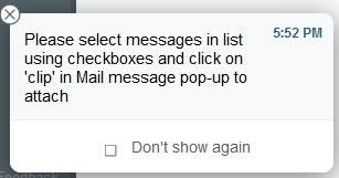 Инструкции за прикачване на имейл