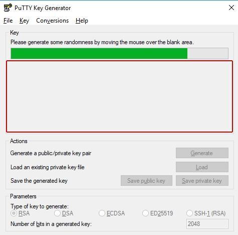 Генериране на SSH ключове