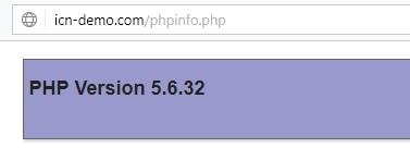 change php version cpanel
