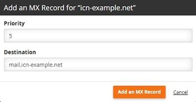 Линкове към директни операции с DNS записи