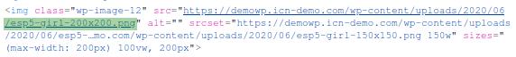 Доказателство за регенериране на thumbnails с коректни размери