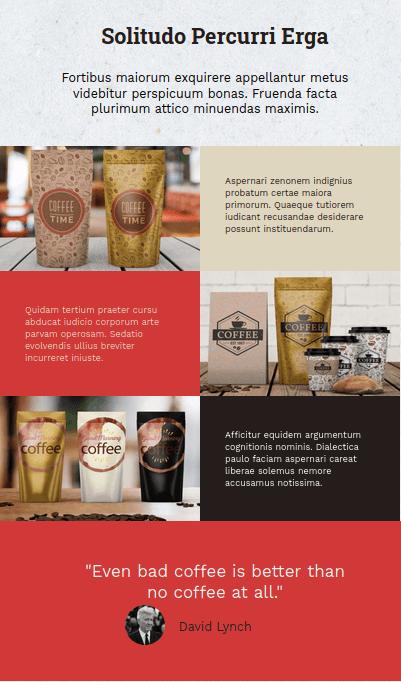 Общ изглед на секция Brands