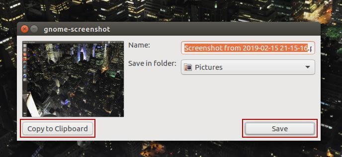 панел за управление на screenshot