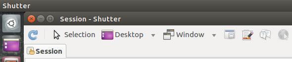 панел с опции на Shutter преди снимане