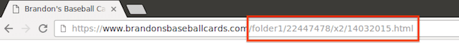 URL адрес с нечетими имена на директории и файлове
