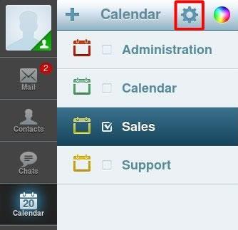 Редактиране Edit на Calendar