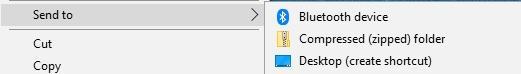 създаване на обикновена икона за бърз достъп (shortcut) до файл