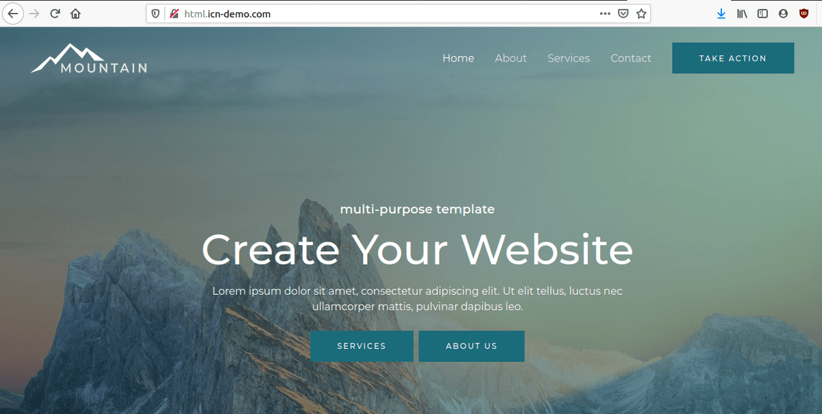 Зареждане на статичен сайт с абсолютен URL адрес