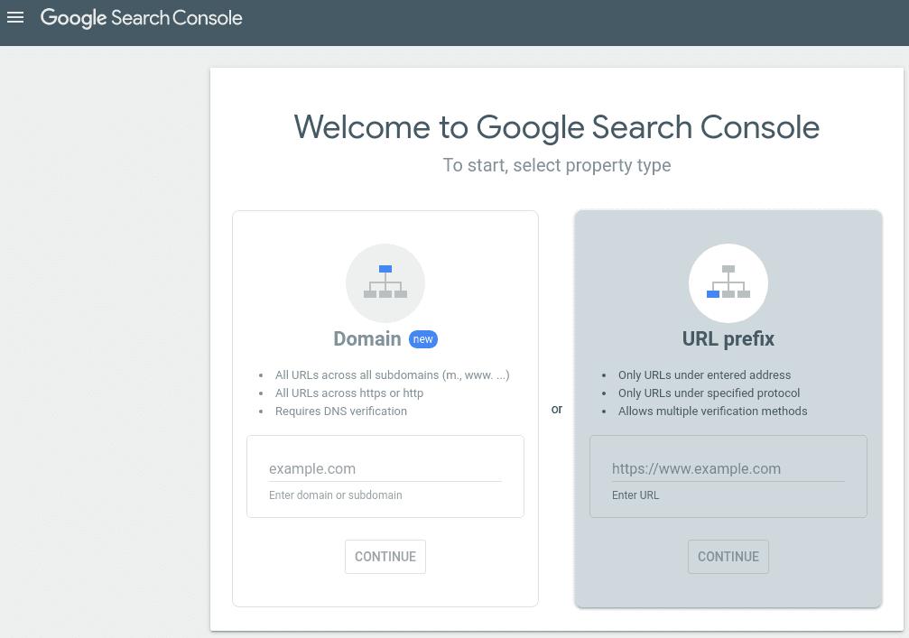 Избор на метод за удостоверяване URL prefix