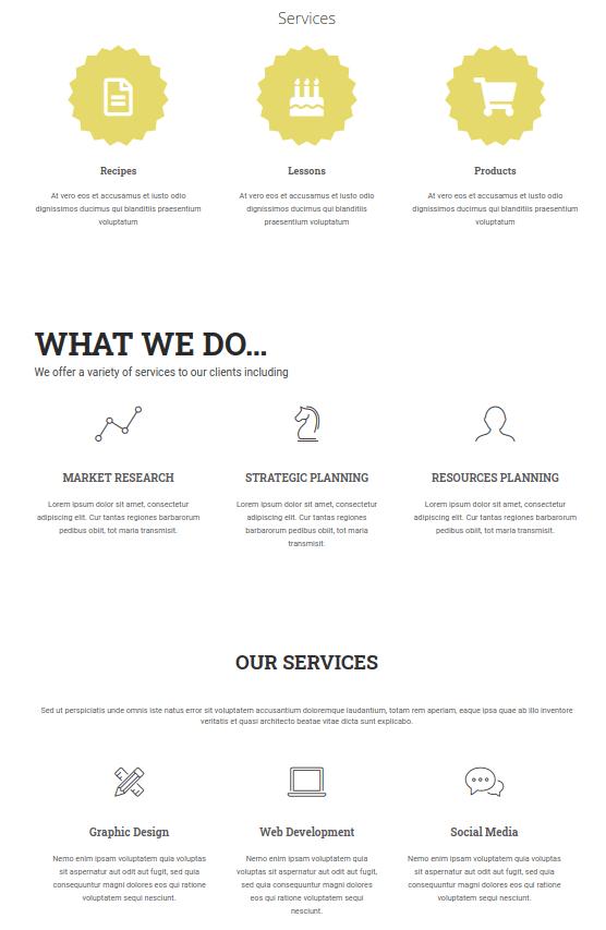 Зареждане на панела Services layouts в браузър