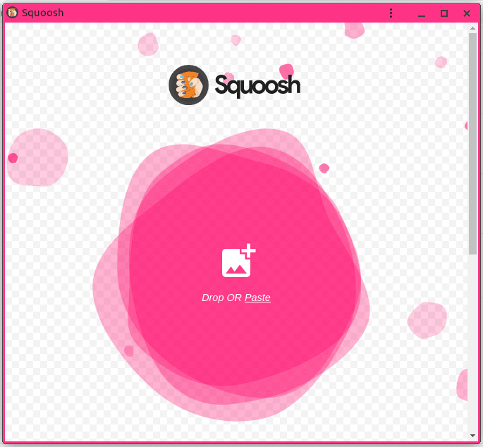 Зареждане на Squoosh като offline приложение