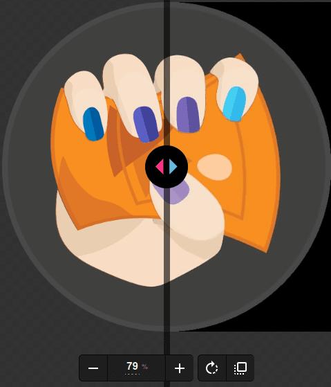 Меню за управление изображението на екрана