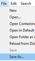 Запазване на .htaccess файла в директория