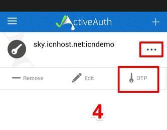 Генериране на еднократна парола