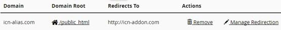 Зареждане на паркирания домейн в браузер