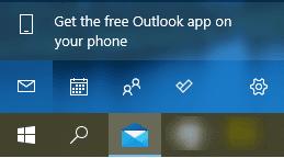 Настройка Settings в лентата на Windows 10 Mail