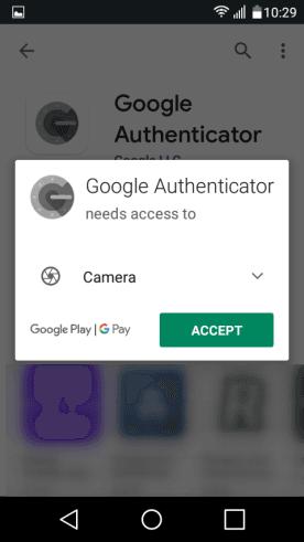 Разрешаване на достъп до камерата